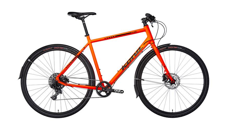 Kona Dr. Dew Rower crossowy  pomarańczowy